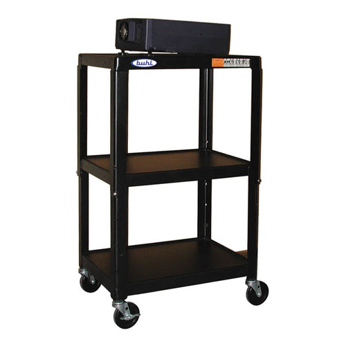"Steel Cart, Adjustable 26"" to 42"" with Electric"