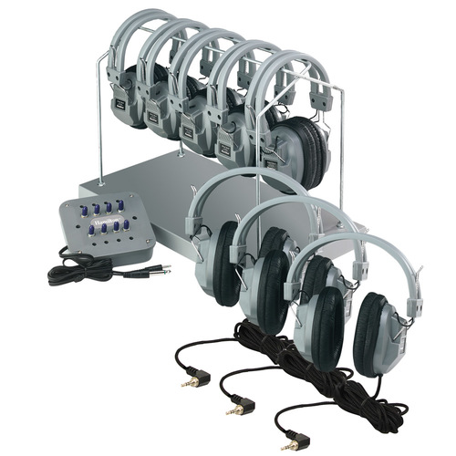 HH Headphone Center Rack (8 Jack w/Volume Control)