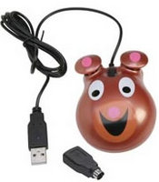 Califone Animal-themed Computer Mouse - Bear