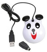 Califone Animal-themed Computer Mouse - Panda