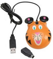 Califone Animal-themed computer Mouse - Tiger